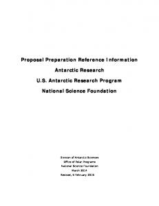 Proposal Preparation Information PDF version