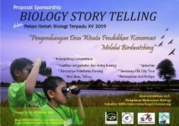 proposal sponsorship - Semarang birdwatchingrace 2009