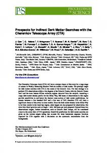 Prospects for Indirect Dark Matter Searches with CTA V4 - arXiv