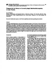 Prospects for the fishery on the small pelagic ... - CiteSeerX
