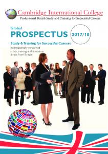 PROSPECTUS2013/4 - Cambridge International College