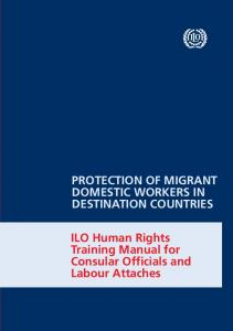 Protection of migrant domestic workers in destination countries