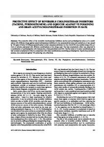 Protective Effect of Reversible Cholinesterase ... - Semantic Scholar