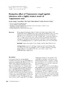 Protective effect of Trypunosornu rungeli against ... - Wiley Online Library