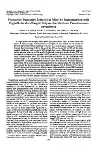 Protective Immunity Induced in Mice by Immunization ... - Europe PMC
