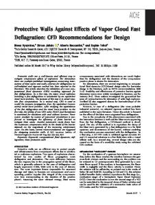 Protective Walls Against Effects of Vapor Cloud ... - Wiley Online Library