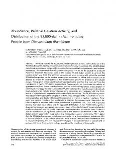 Protein from Dictyostelium discoideum - BioMedSearch