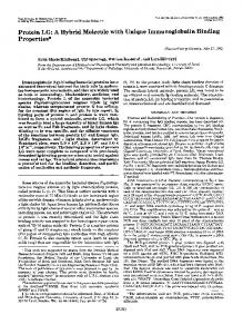 Protein LG - The Journal of Biological Chemistry