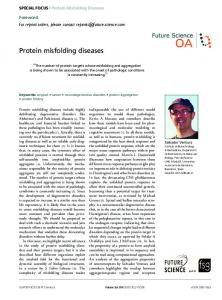Protein misfolding diseases - Future Science
