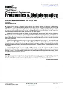 Proteomics & Bioinformatics - OMICS International