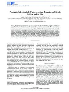 Protocatechuic Aldehyde Protects against ... - Wiley Online Library