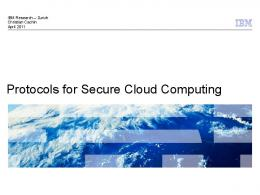 Protocols for Secure Cloud Computing - Semantic Scholar