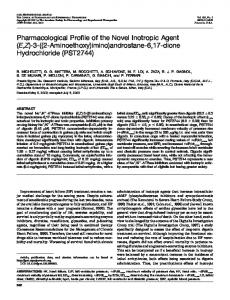 PST2744 - Journal of Pharmacology and Experimental Therapeutics