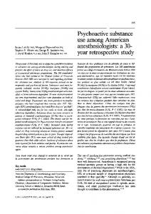 Psychoactive substance use among American ... - Springer Link