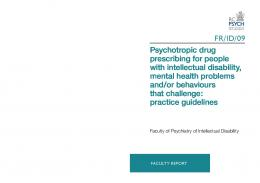 Psychotropic drug prescribing for people with intellectual disability ...