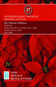 PTML Lecture Book - Cover - Indian Institute of Banking & Finance
