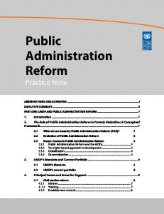public administration reformation in brunei essay View and download anne frank essays examples also on public administration reform and into the path of the growing european reformation.