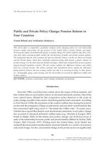 Public and Private Policy Change: Pension ... - Wiley Online Library