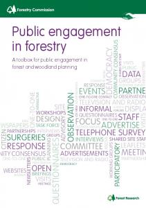 Public engagement in forestry - Forestry Commission