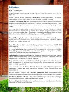 Publications - Indian Institute of Management Lucknow