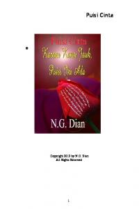 Puisi Cinta - Smashwords