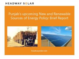 Punjab's upcoming New and Renewable Sources of Energy Policy ...