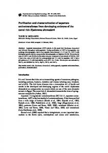 Purification and Characterization of Aspartate ... - Springer Link