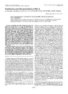 Purification and Characterization of Rac 2 - The Journal of Biological