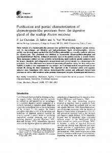Purification and partial characterization of ... - ScienceDirect
