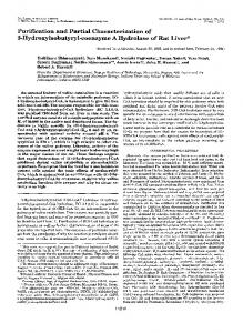 Purification and Partial Characterization of - The Journal of Biological ...