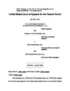 Pursuant to Fed - Justia Dockets & Filings