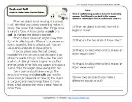 Push and Pull - K12 Reader