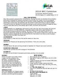 Pushing The Limits 2014 NYC Exhibition