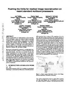 Pushing the limits for medical image reconstruction on recent standard ...