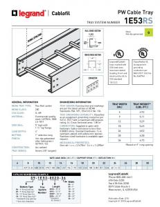 PW Cable Tray