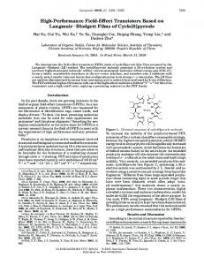 pyrrole - American Chemical Society