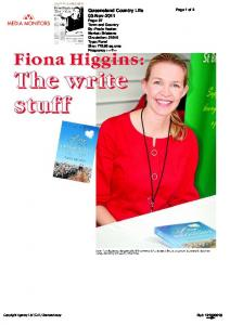 QCL article 3-11-11 - Fiona Higgins