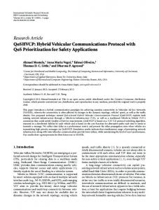 QoSHVCP: Hybrid Vehicular Communications Protocol with QoS ...