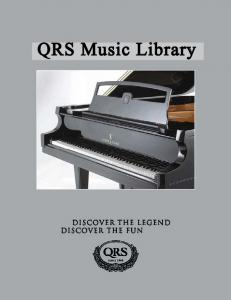 QRS Music Library - Wagner Piano