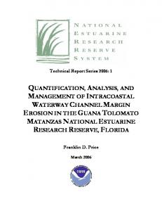 Quantification and Analysis of Salt Marsh Loss in the ...
