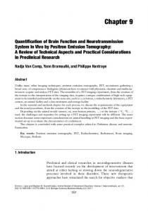 Quantification of Brain Function and Neurotransmission System In ...