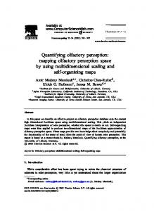 Quantifying olfactory perception: mapping olfactory ... - Semantic Scholar