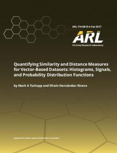 Quantifying Similarity and Distance Measures for Vectors