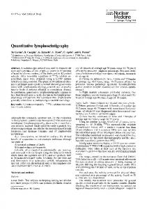 Quantitative lymphoscintigraphy - Springer Link