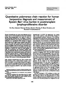 Quantitative polymerase chain reaction for ... - Clinical Chemistry