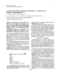 Quantitive Complementation - Proceedings of the National Academy ...