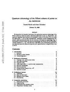 Quantum cohomology of the Hilbert scheme of points on An-resolutions