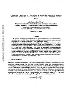 Quantum Creation of a Universe in Albrecht-Magueijo-Barrow model