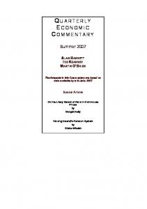 Quarterly Economic Commentary - The Economic and Social ...