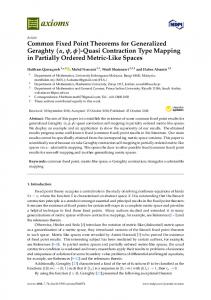 Quasi Contraction Type Mapping in Partially Ordered Metric-Like Spaces